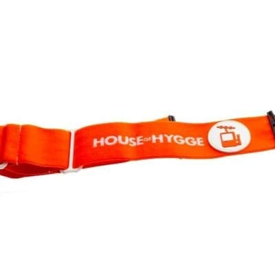 goggle skibrille strikk hvit oransje