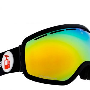 goggle svart skibrille ramme rebel