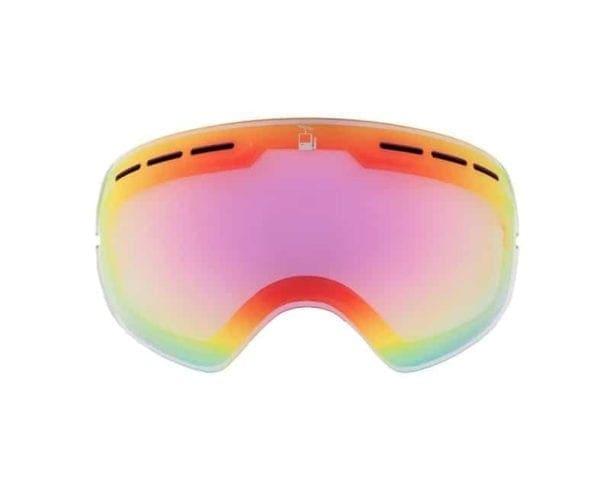 linse glass goggles skibrille flatt lys barn pioneer