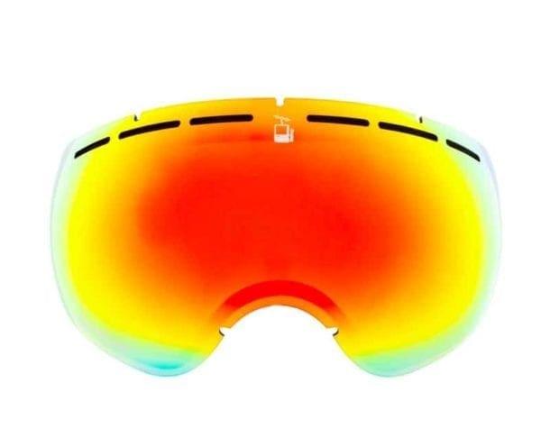 skibrille goggles ekstra linse glass rebel