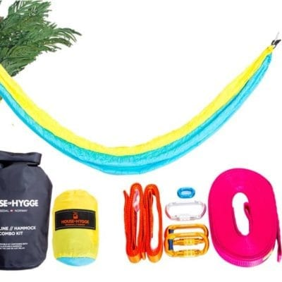 slakkline og hammock