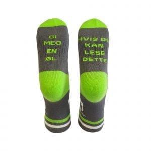 tursokker morsomme sokker hent ol gronn gra