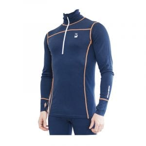 -baselayer men zipneck bla