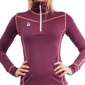 wool women zipneck vinrod