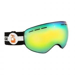 skibrille svart goggles mutineer