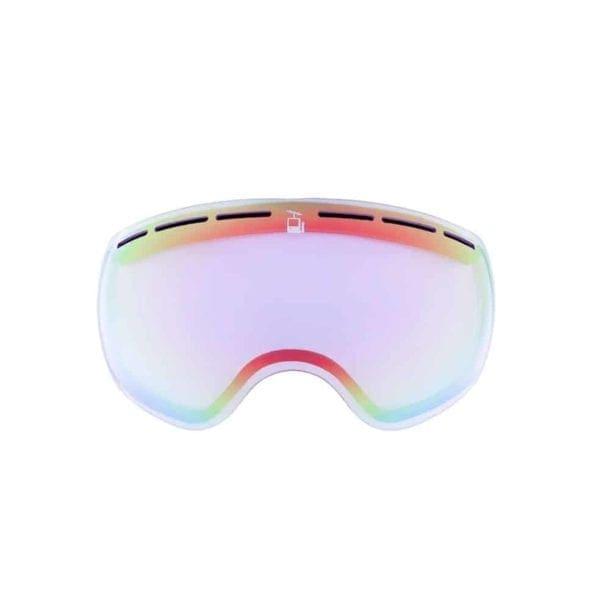 skibrille goggles ekstra linse glass mutineer flatt lys