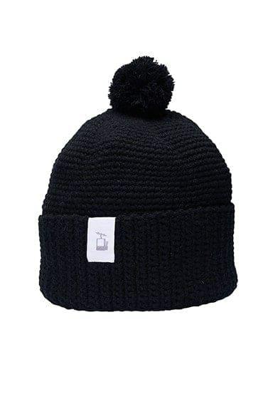 LQ Crochet Beanie Black
