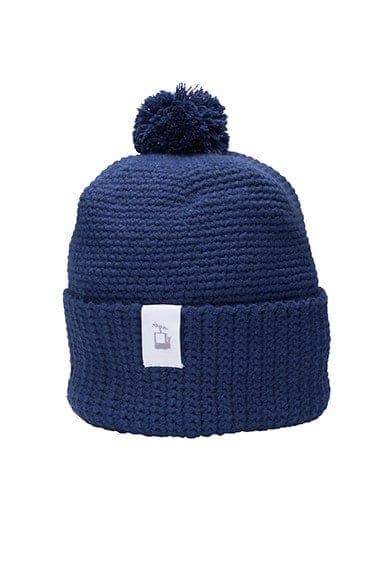 LQ Crochet Beanie Navy blue