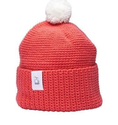 LQ Crochet Beanie Peach