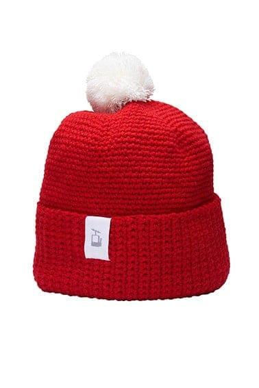 LQ Crochet Beanie Red