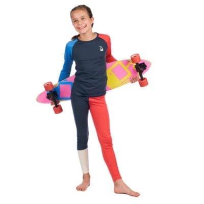 Girls longjohn crewneck longboard 2