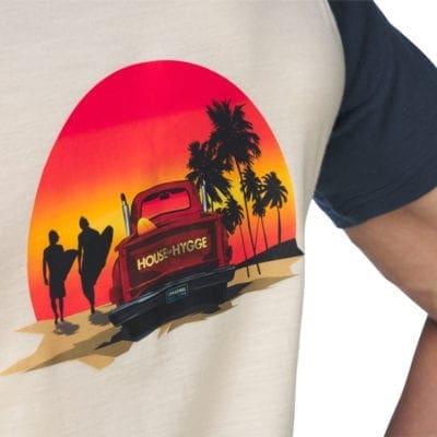 t-skjorte i merinoull