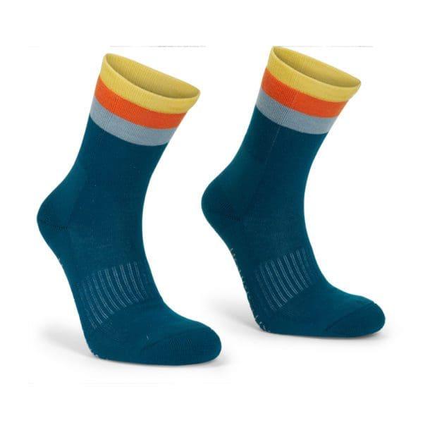 Trekking sock mork turkis 1N